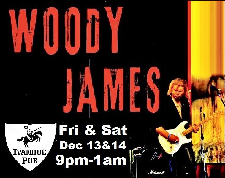 woody james