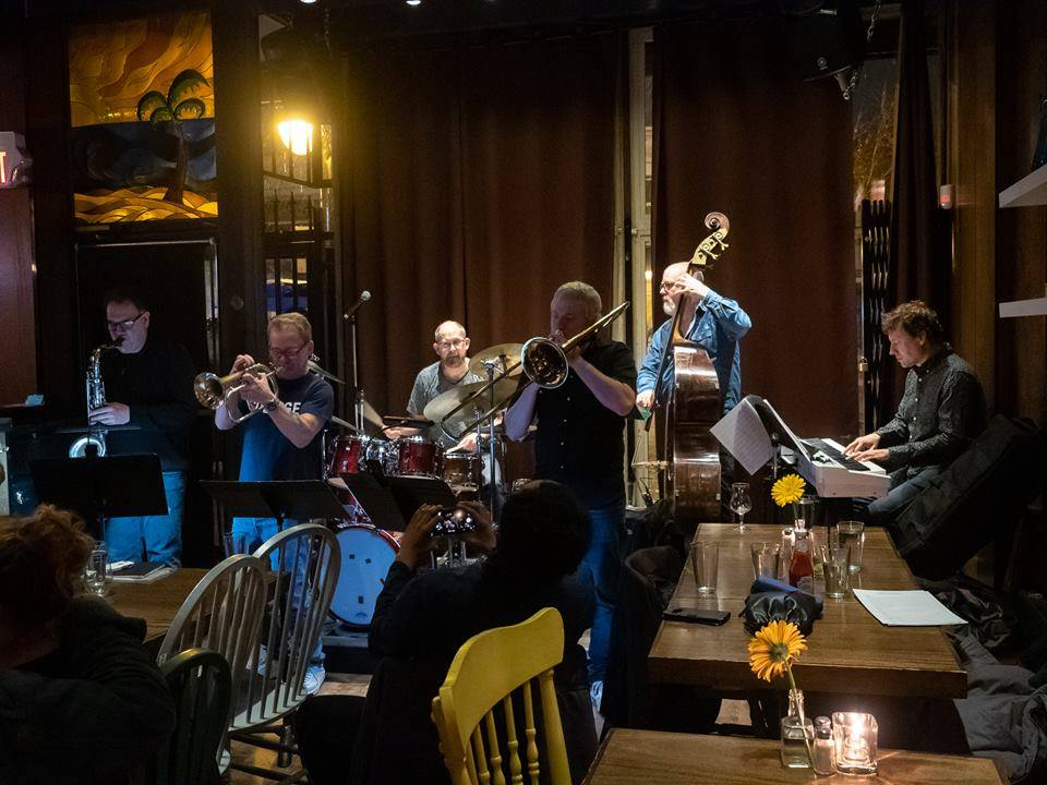 Jazz at the Tangent Cafe