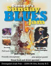 Donegals Sunday Blues Jam