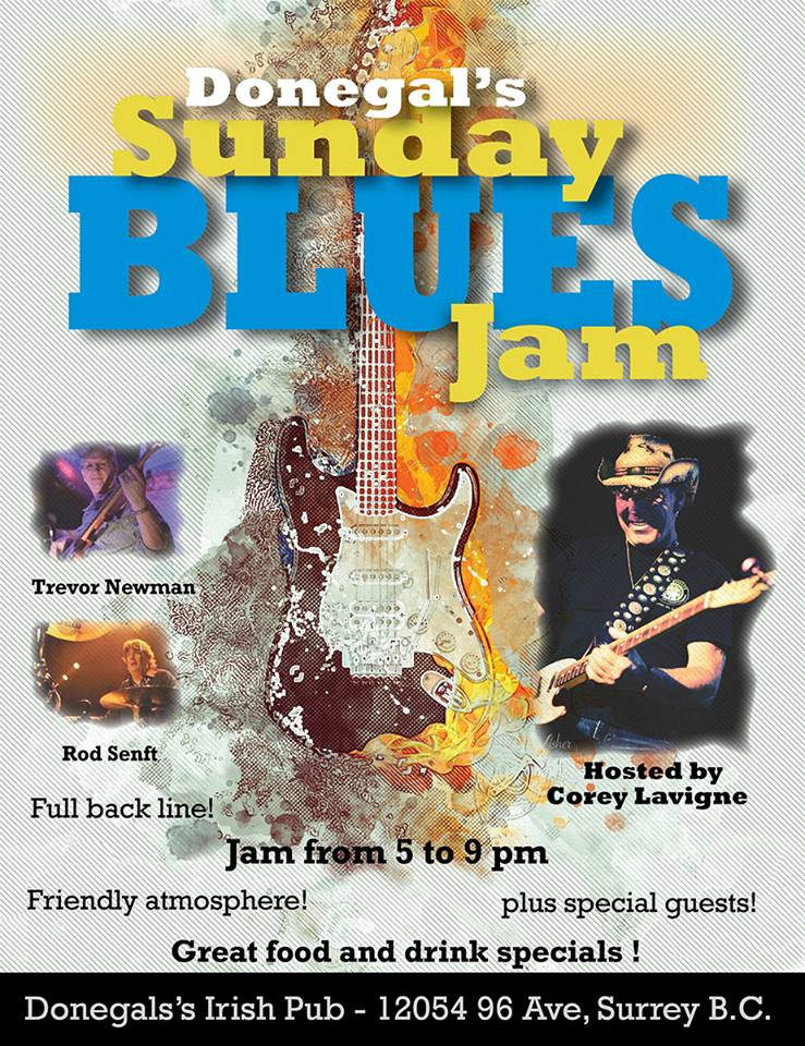 Donegals Sunday Blues Jam